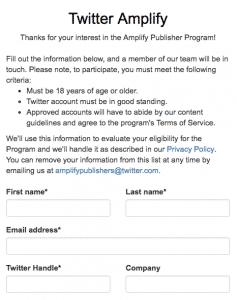 Amplify Twitter