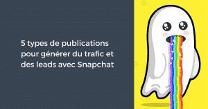 trafic-et-leads-avec-snapchat