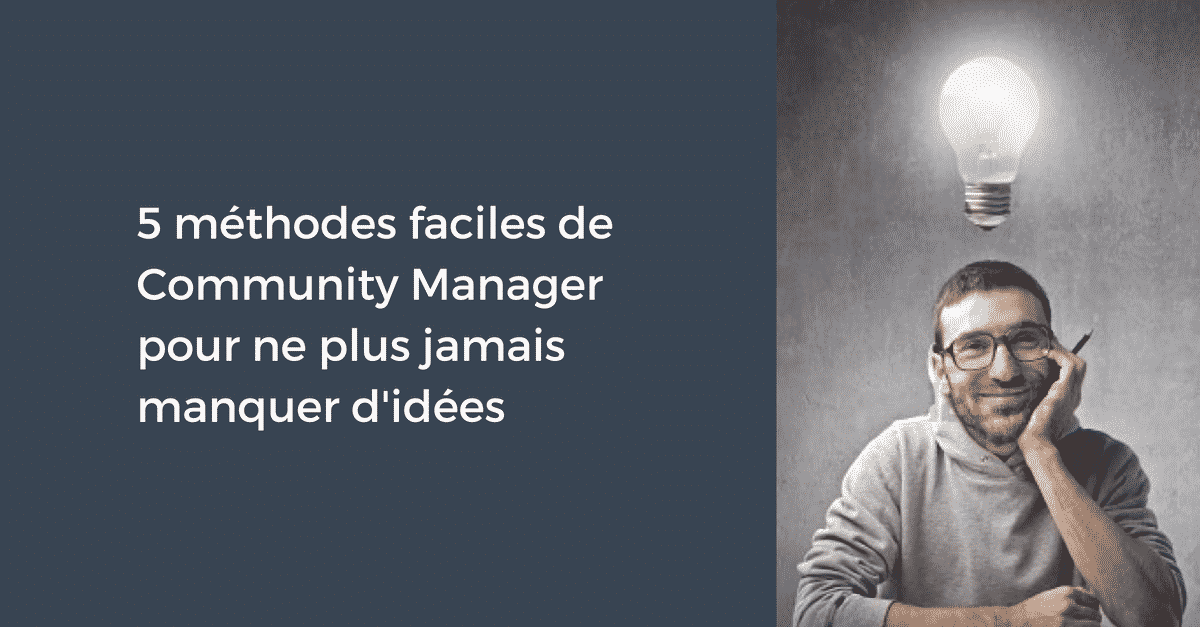 Idees pour le Community Manager