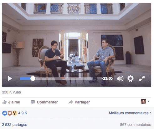 Video Longue Facebook