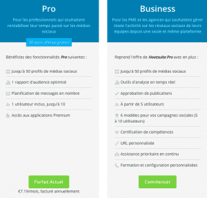Pricing Hootsuite
