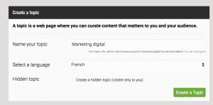 Marketing digital Scoopit