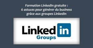 Formation Gratuite LinkedIn