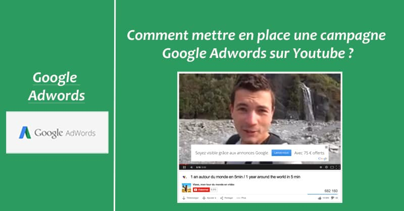 Campagne Adwords sur Youtube