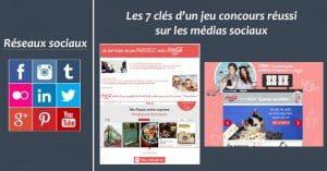 Les 7 clés d'un jeu concours réussi sur les médias sociaux