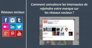 Comment convaincre les internautes de rejoindre votre marque sur les réseaux sociaux ?