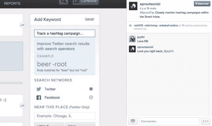 Sprout - Formation reseaux sociaux