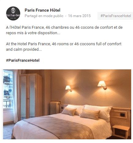 Hotel - Formation aux reseaux sociaux