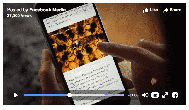 Instant Articles FB