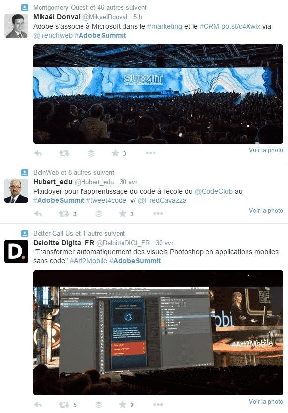 Livetweet Adobe