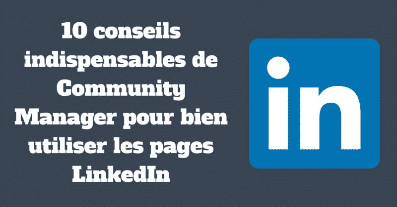 Pages LinkedIn
