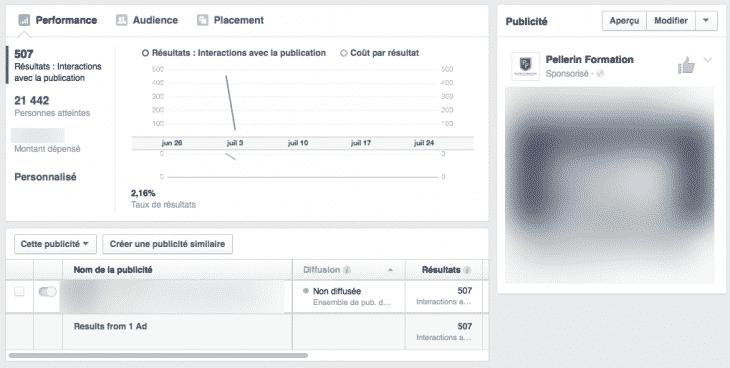 Gestionnaire Pub Facebook 2