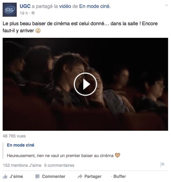 video 10 secondes Facebook