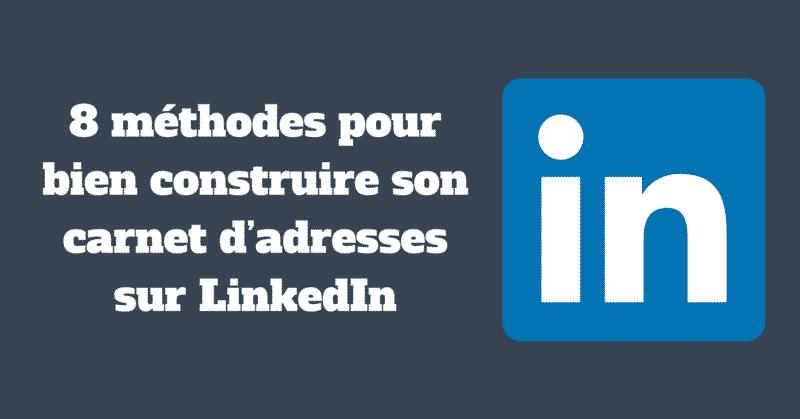 Carnet Adresses LinkedIn