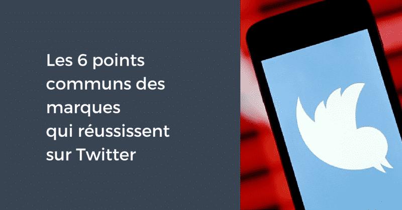 Points communs Twitter