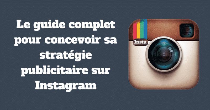 Strategie publicitaire Instagram