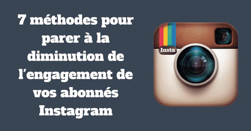 Abonnes sur Instagram