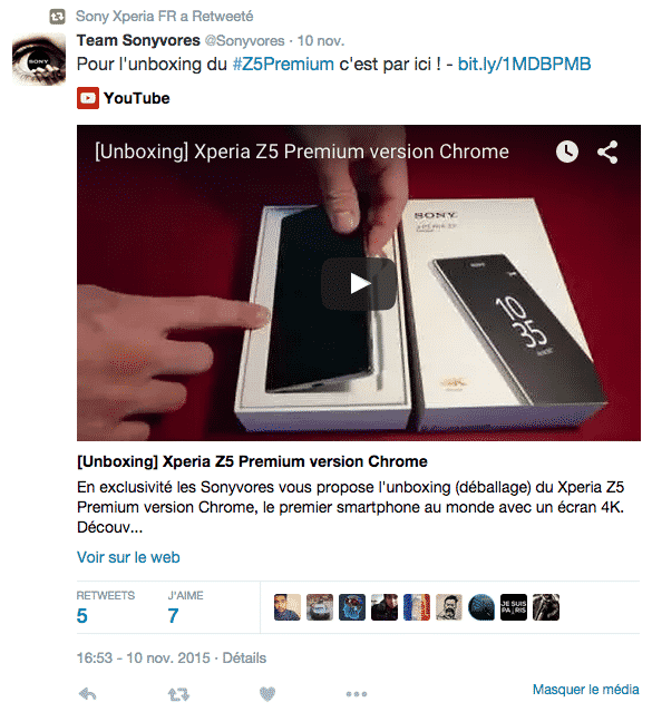 Sony Mobile 5