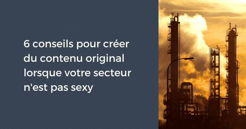 Industrie peu sexy