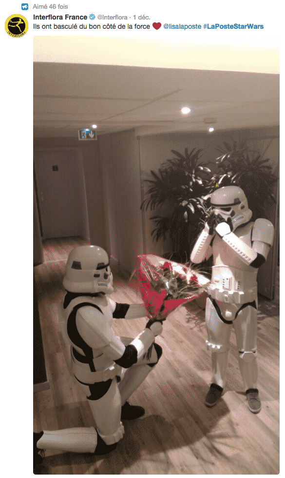 Interflora Star Wars