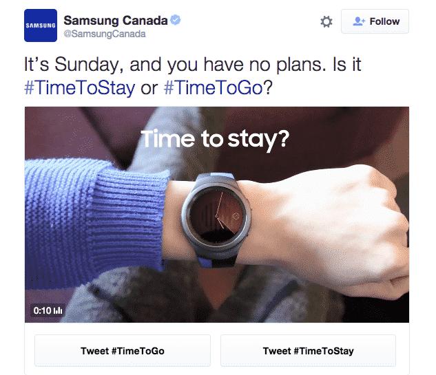 Samsung Conversational Ads