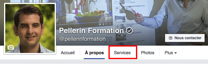 Services Pages Facebook