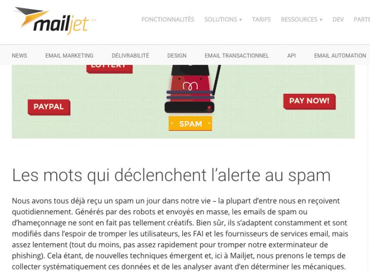 Blog Article Mailjet