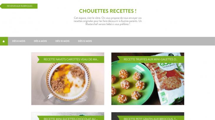 Chouettes Recettes