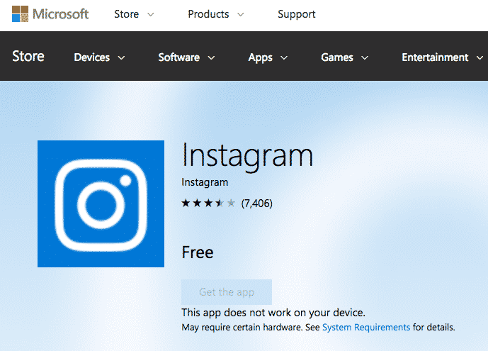 instagram-windows-10
