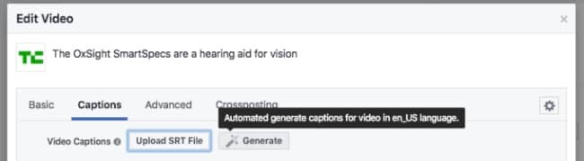 fbpagesautomaticvideocaptioninggeneratecaptions