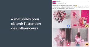 Capter Attention Influenceurs