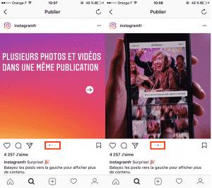Exemple Album Instagram