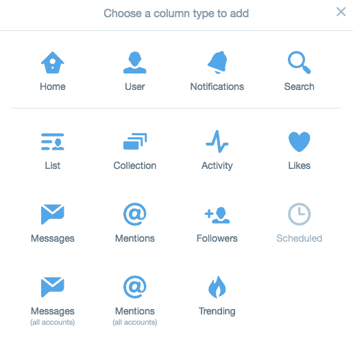 Flux Tweetdeck