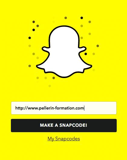 Snapchat Etape 1
