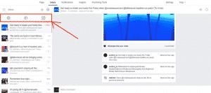 Boite de reception unifiee Facebook