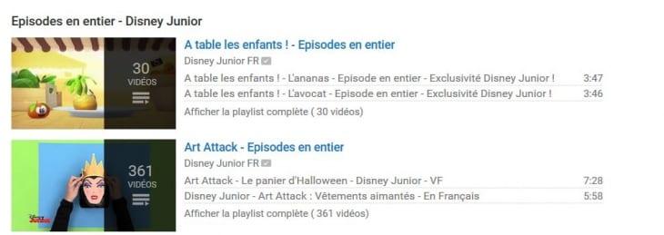 Disney Junior_Playlists