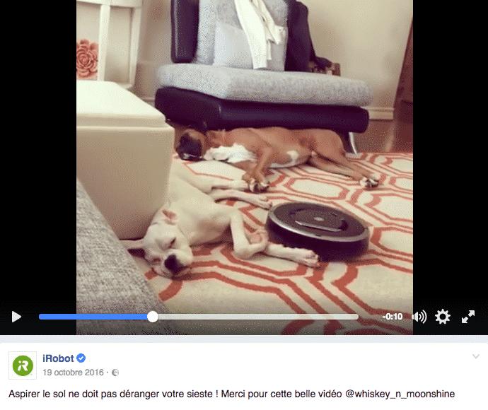 Roomba UGC