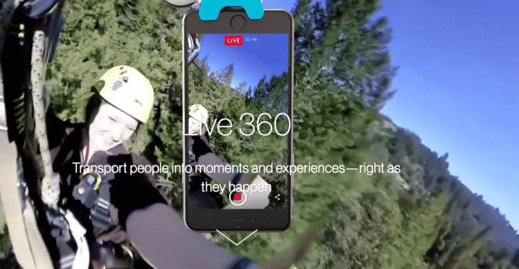Facebook 360 Live