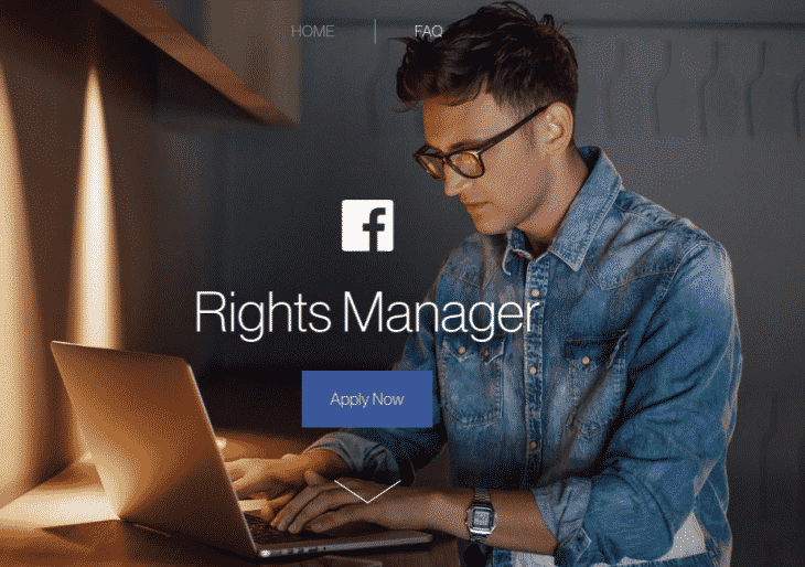 Facebook Rights Managers