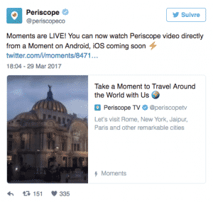 Moments Twitter Periscope Live
