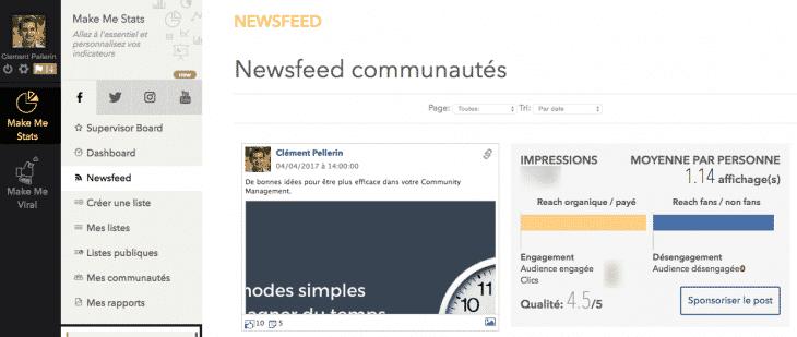 Newsfeed MMS