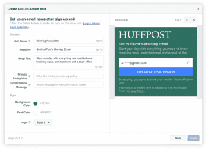 Newsletter Instant Articles