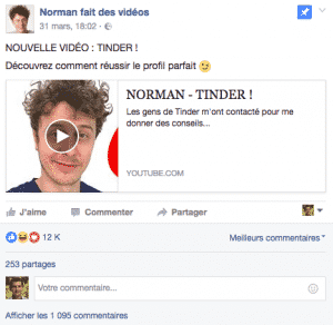 Norman Tinder Youtube