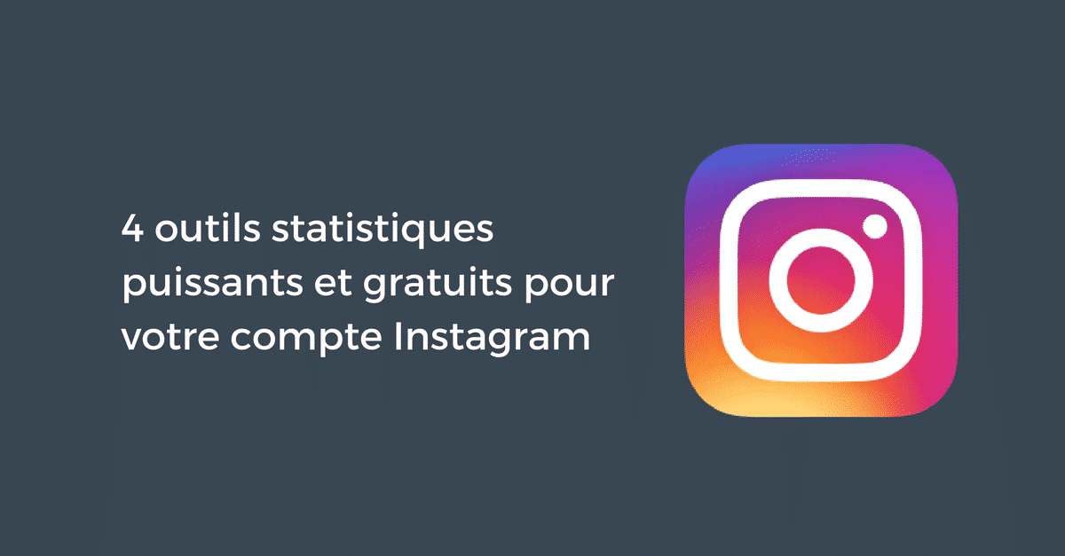 Outils statistiques Instagram