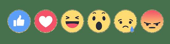Visuels Reactions Facebook
