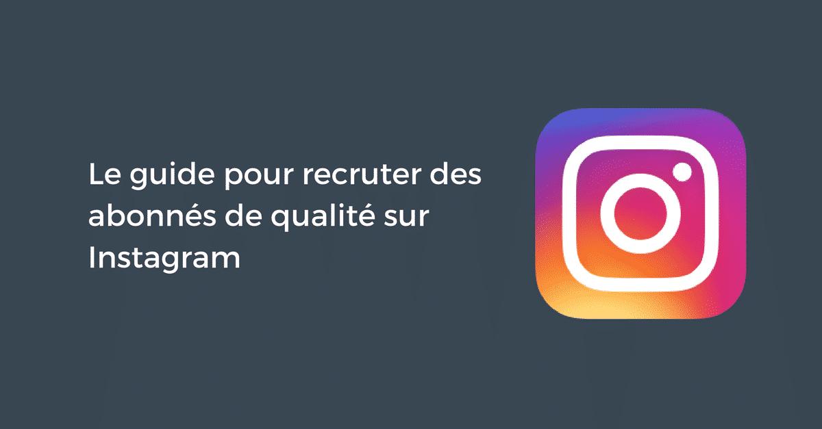Abonnes Qualite Instagram
