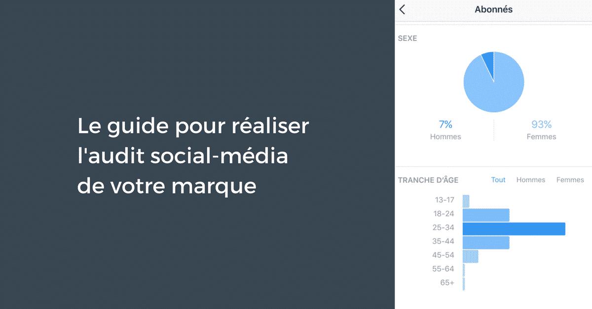 Audit Social Media Marques