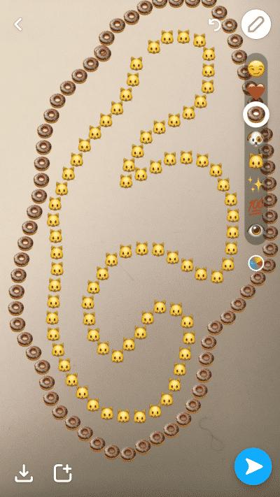 Dessiner avec Emojis