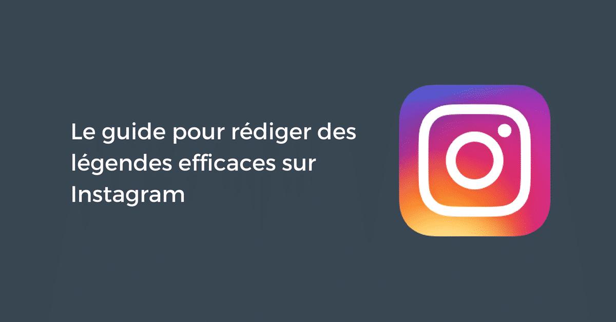 Legendes efficaces Instagram