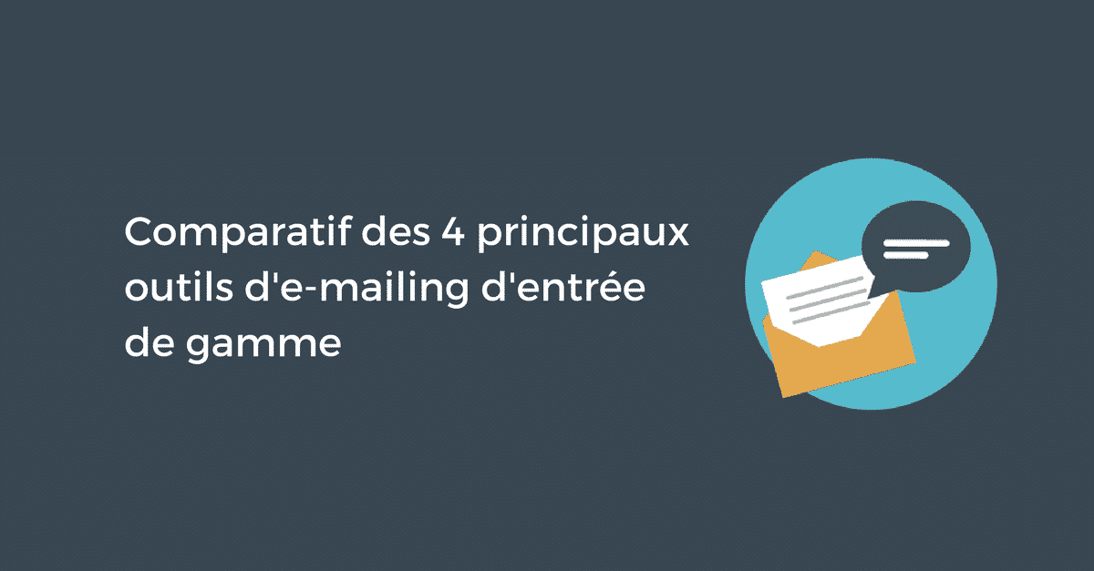 Outils Emailing Comparatif